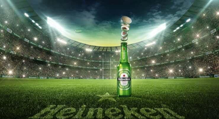 Come Heineken si lega allo sport