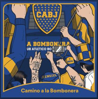 Camino a la Bombonera