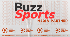 Buzz Sports è Media Partner della seconda edizione del Social Football Summit