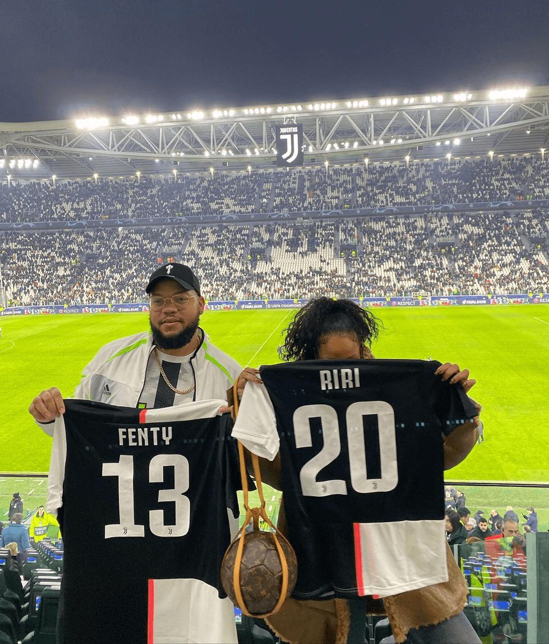 Rihanna Juventus Stadium