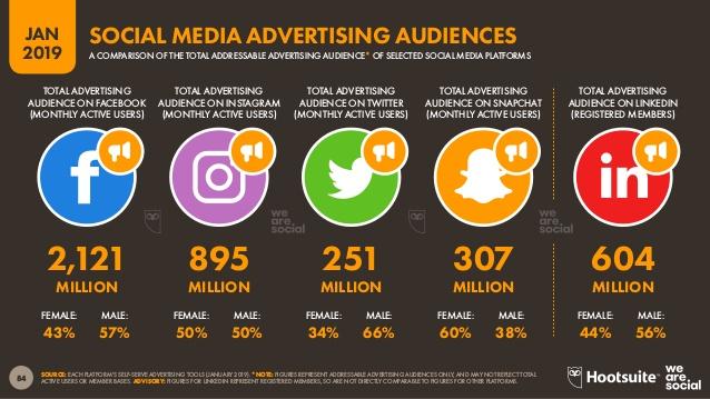 social media advertising audiences