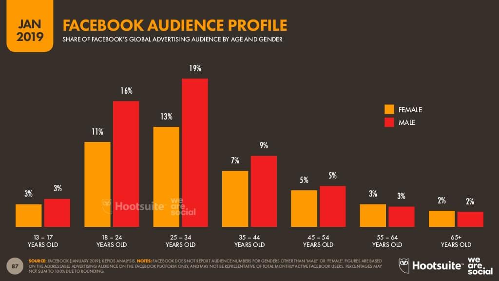 Facebook audience profile